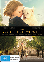 Zookeeper's Wife DVD Cover