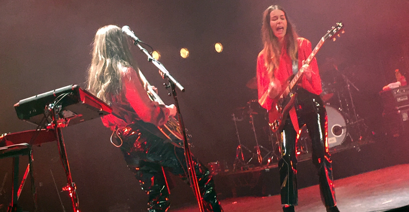 Haim @ Enmore Theatre, live review
