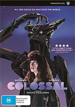 Colossal DVD Cover