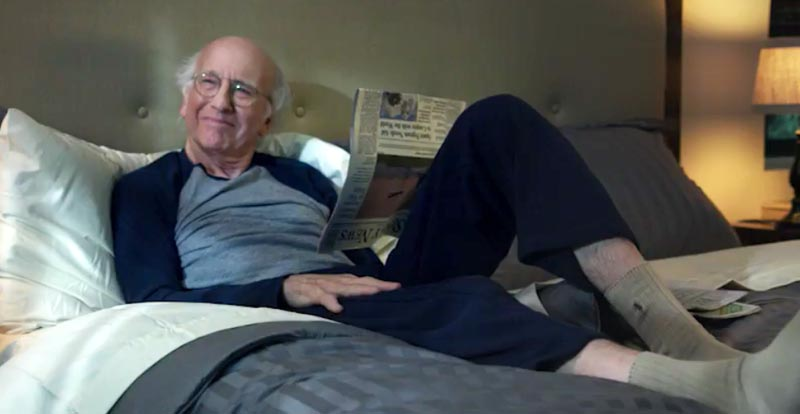 Larry David, superhero! New Curb Your Enthusiasm trailer