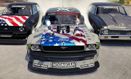 Forza, Ken Block and Hoonigan crash into a bar…
