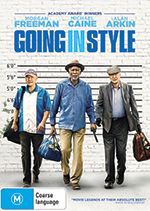 Going In Style DVD Cover