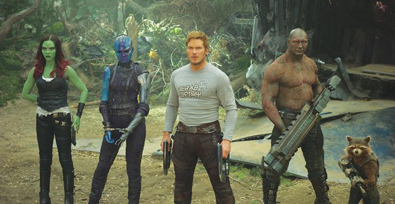 Karen Gillan on Guardians of the Galaxy Vol. 2