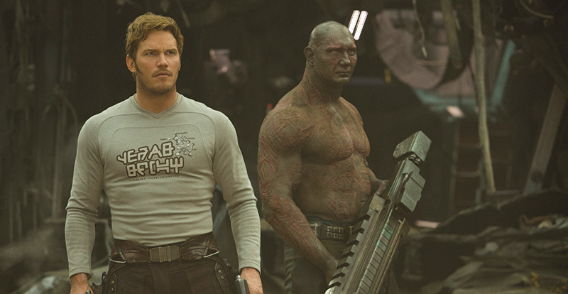 Guardians of the Galaxy Vol.2 on DVD and Blu-ray August 23