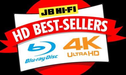 JB Hi-Fi Blu-ray and 4K charts – February 2018
