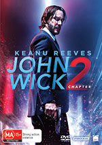 John Wick Chapter Two DVD Cover