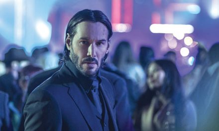 The third John Wick flick gets its gun