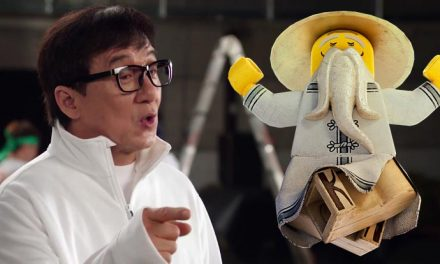 Jackie Chan brings his moves to The LEGO Ninjago Movie