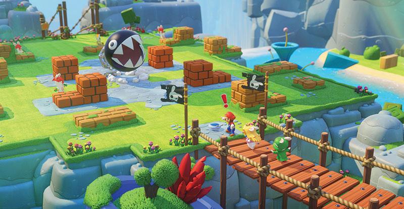 Mario + Rabbids Kingdom Battle – rabbid with enthusiasm