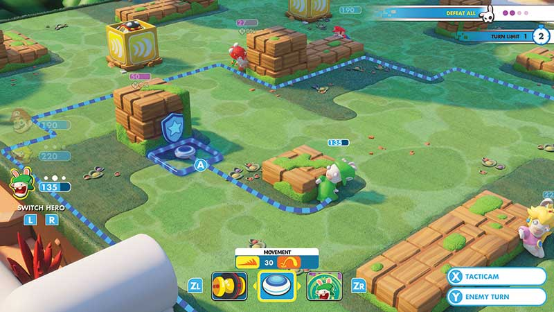Mario + Rabbids: Kingdom Battle Gameplay