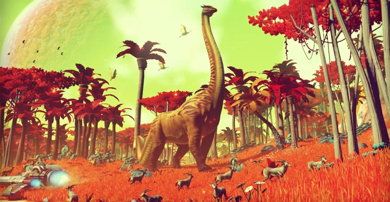 Big No Man's Sky update flying in