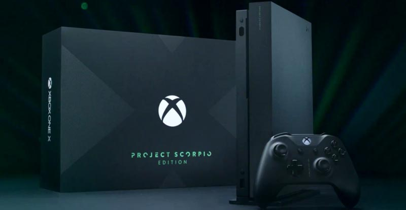 Xbox One X bringing the enhancements