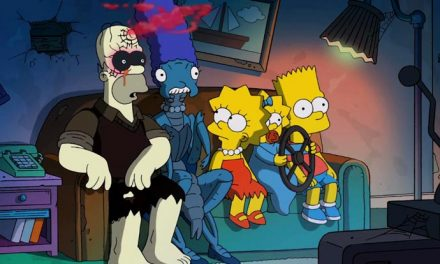 Exorcist legend for The Simpsons' Treehouse of Horror