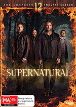 Supernatural: Season 12 DVD Cover