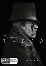 Taboo Season 1 DVD Cover