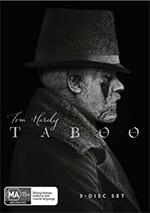 Taboo Season 1 DVD Cover