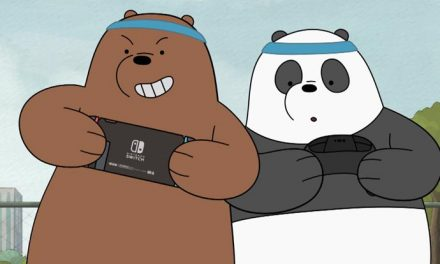 We Bare Bears get their Nintendo Switch on!