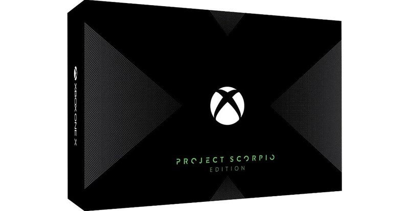 Xbox One X: Project Scorpio Edition pre-order now!