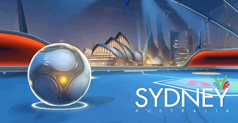 Lucioball headed Down Under
