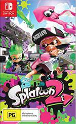 Splatoon 2 Nintendo Switch packshot