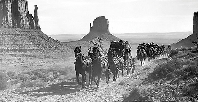 Early Stagecoach Scenes