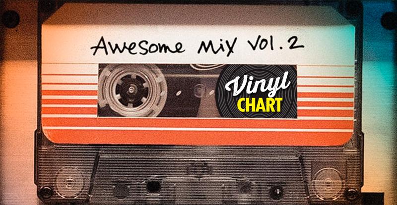 JB's vinyl chart (August, week 2)