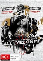 All Eyez On Me DVD Cover