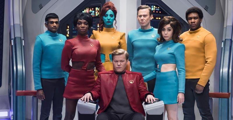 Black Mirror boldly going into Star Trek territory?