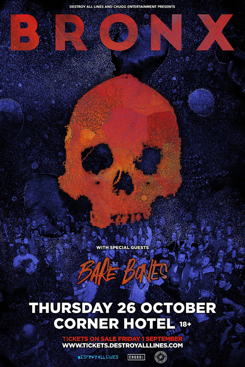 Bronx tour poster
