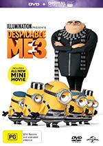 Despicable Me 3 DVD Cover