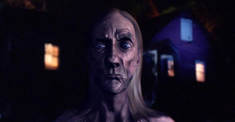 Is Iggy Pop in CGI creepy or cool?