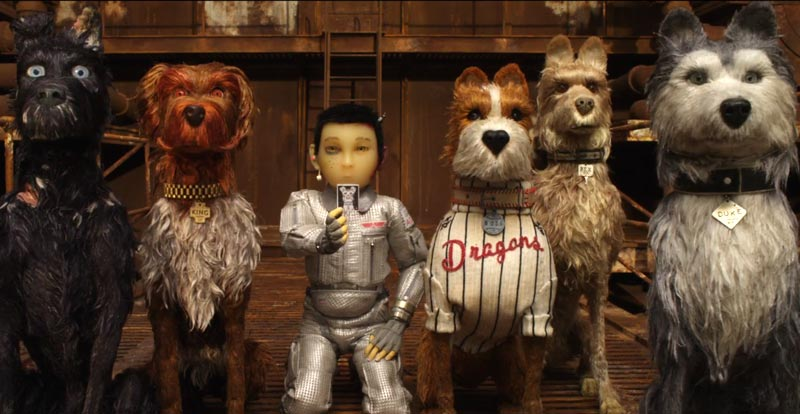 Wes Anderson goes to the dogs – the Isle of Dogs