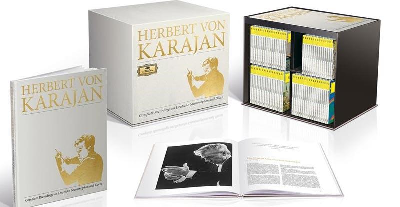 Karajan – his box set is bigger than yours!
