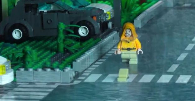 It's Pennywise in LEGO is as creepy as the real deal
