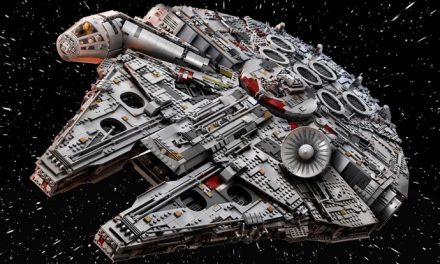 New Millennium Falcon is the biggest LEGO set ever