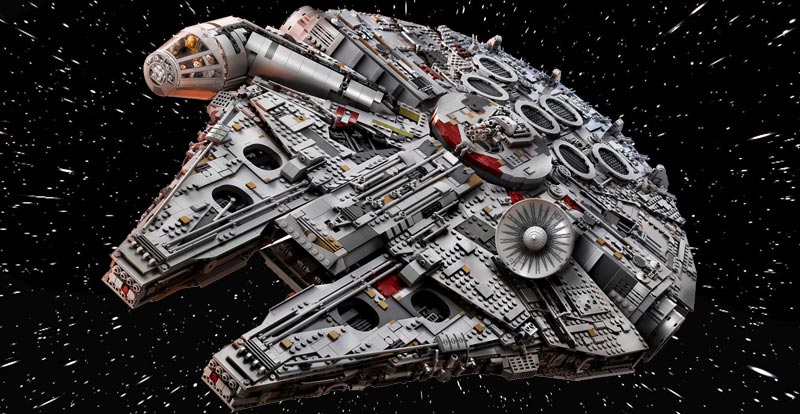 New Millennium Falcon Is The Biggest Lego Set Ever Stack