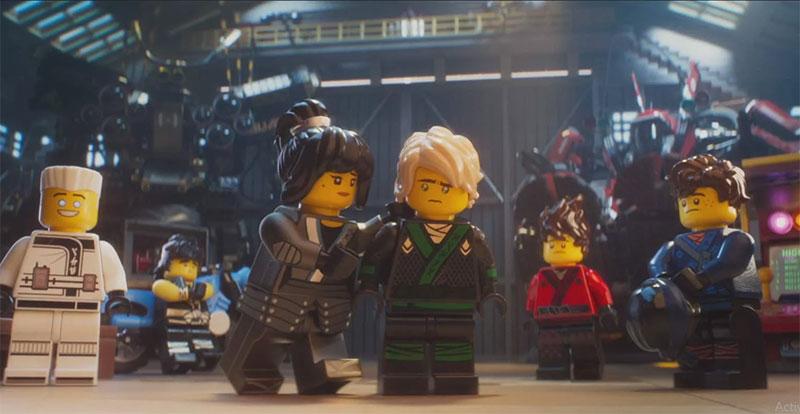 Meet 3 LEGO Ninjas
