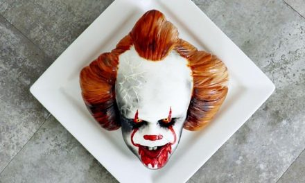 Crumbs! This Pennywise cake is terrifying