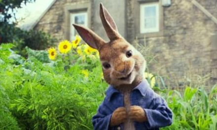 Peter Rabbit trailer hops in