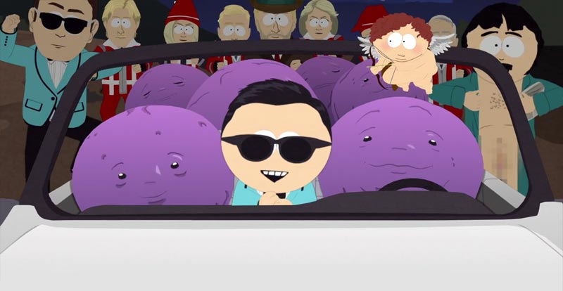 South Park goes the full Montell