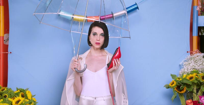 Colourful new St. Vincent video, 'New York'