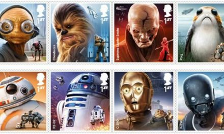 Star Wars stamps – the light… it's always been there