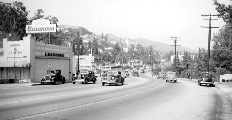 Sunset Strip cicra 1939