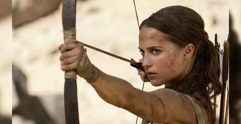 The first trailer for Alicia Vikander's Tomb Raider is here
