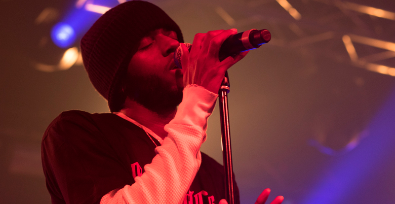 6LACK @ 170 Russell, live review