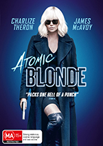 Atomic Blonde DVD Cover