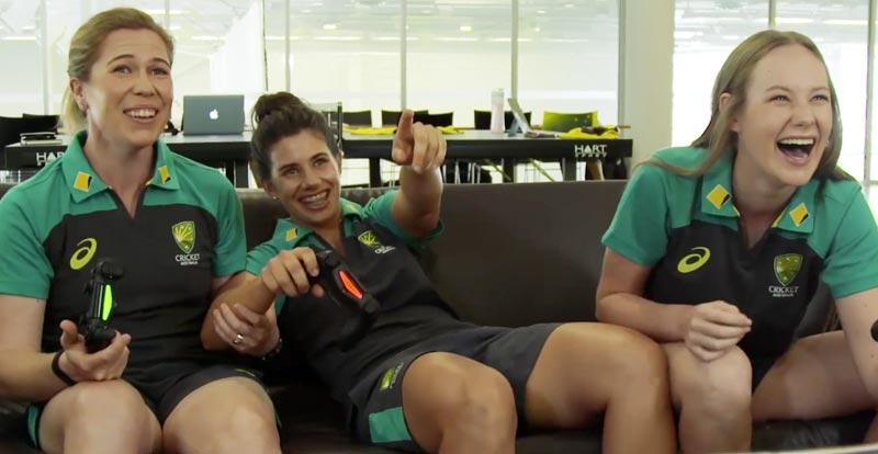 Aussie cricketers play as themselves in Ashes Cricket