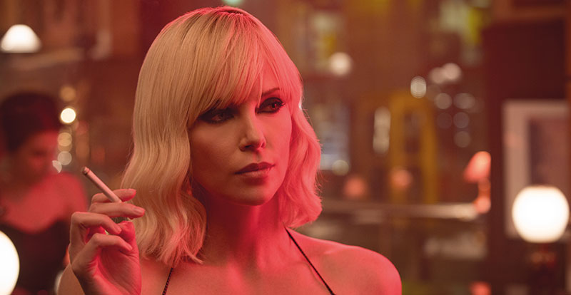 Atomic Blonde on DVD, Blu-ray, UV and 4K November 15