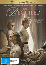 The Beguiled DVD Cover