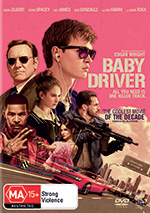 Baby Driver DVD cover
